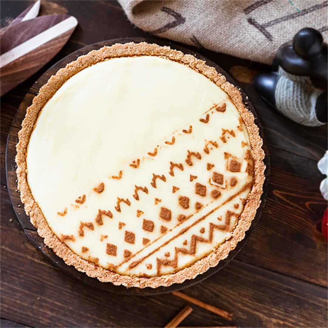 South African No-Bake Milk Tart – Melktert
