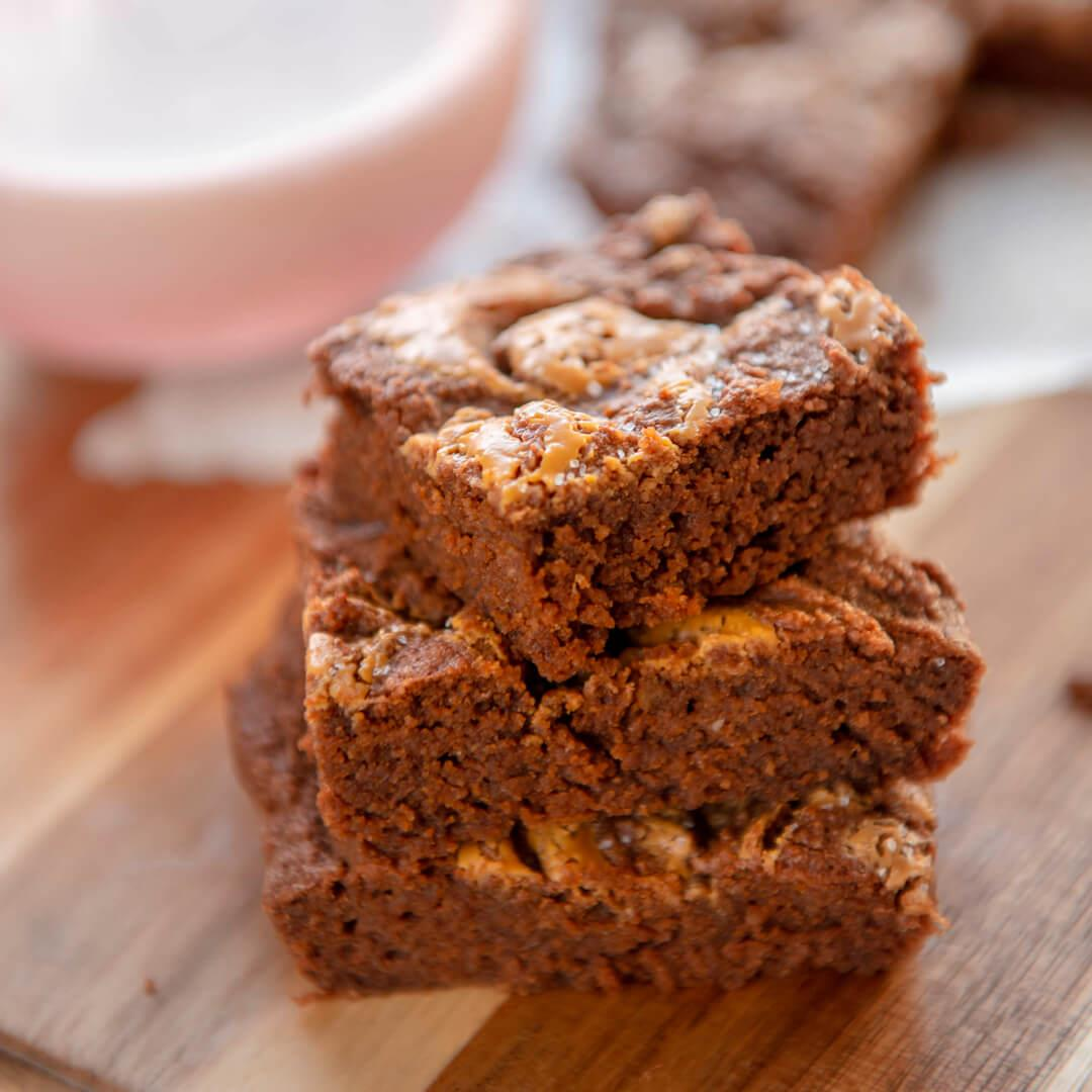 Quick & Easy Keto Peanut Butter Brownies