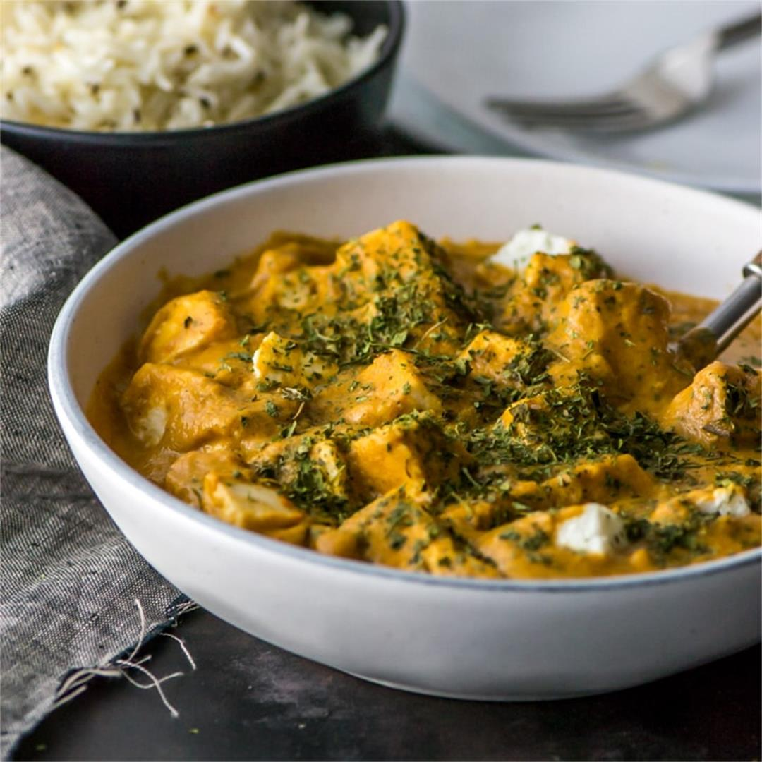 Restaurant Style Paneer Makhani Or Paneer Butter Masala