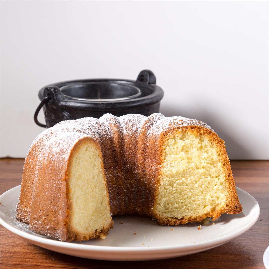 Classic Vanilla Bundt Cake Recipe - Butter Pound Cake