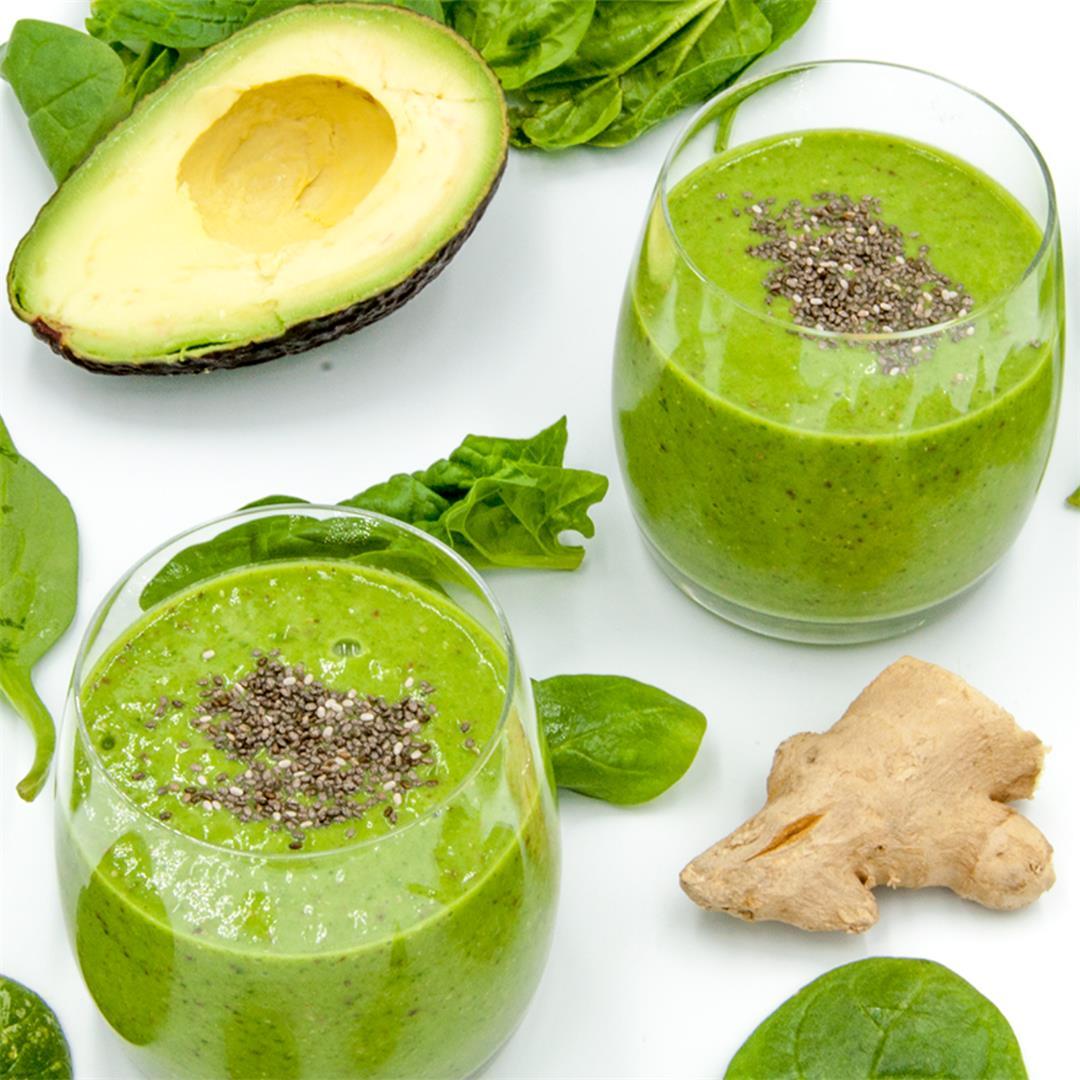 Avocado and Spinach Detox