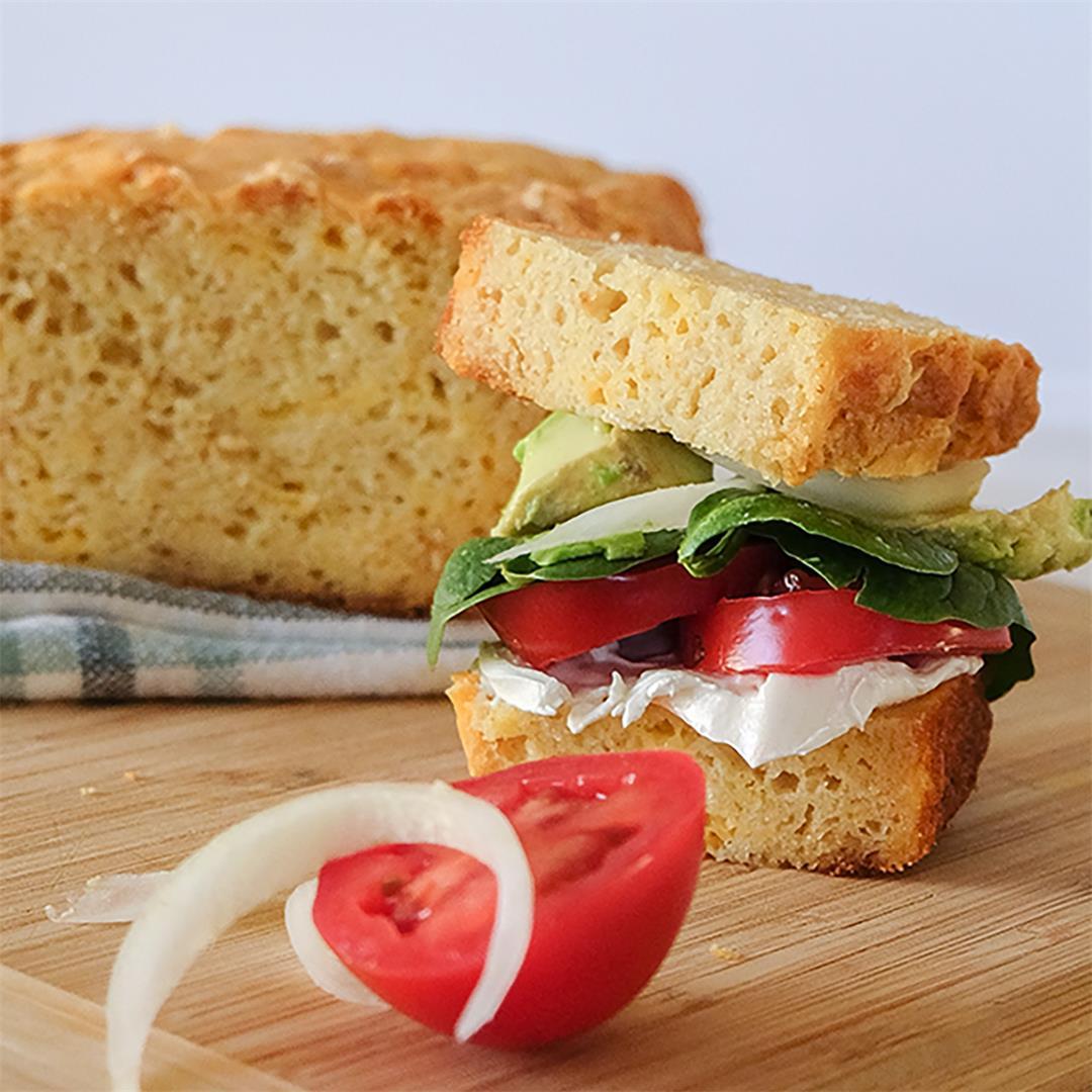 Gluten-Free Buttermilk Cheese Bread