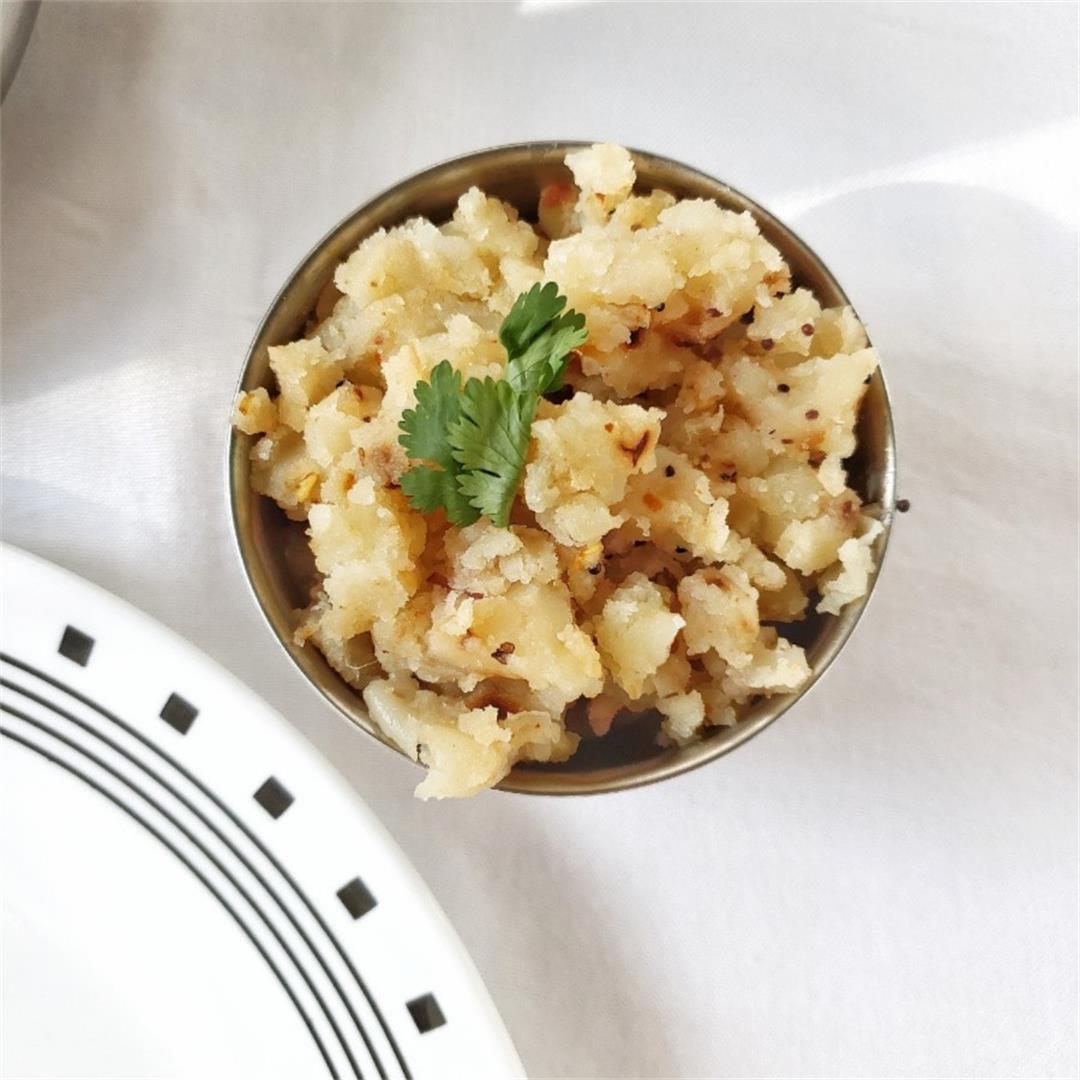 Aloo Kangmet/ Spiced Mashed Potato