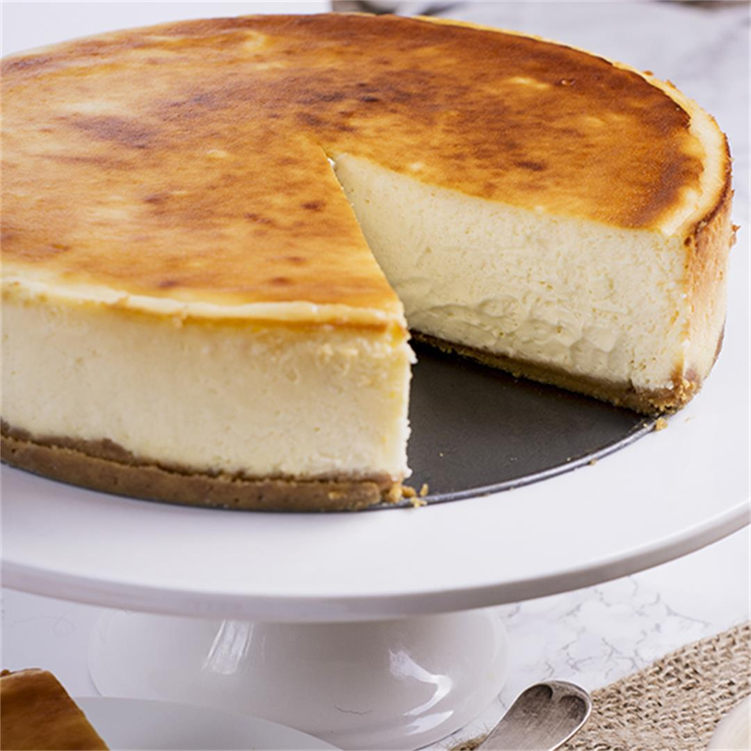 Baked New York Cheesecake
