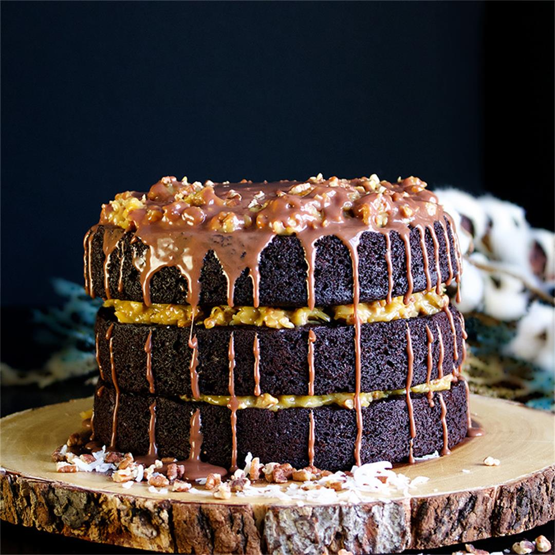 Rich German Chocolate Cake