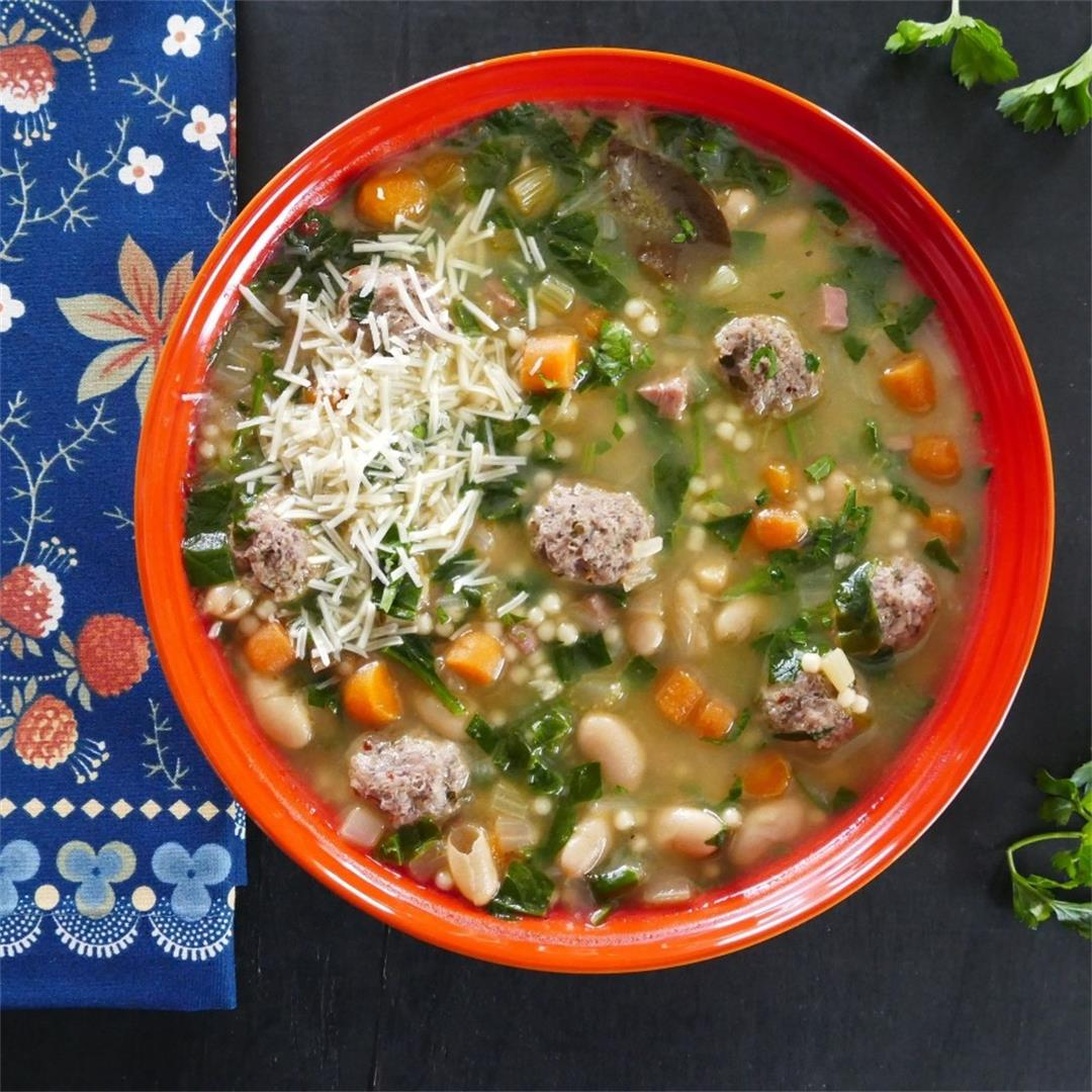 Hearty Instant Pot Italian Wedding Soup