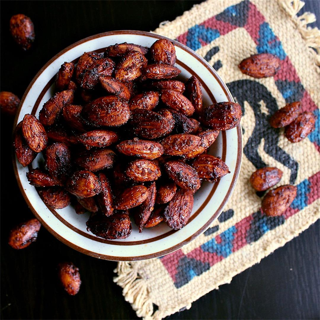 BBQ Roasted Low Carb Almonds