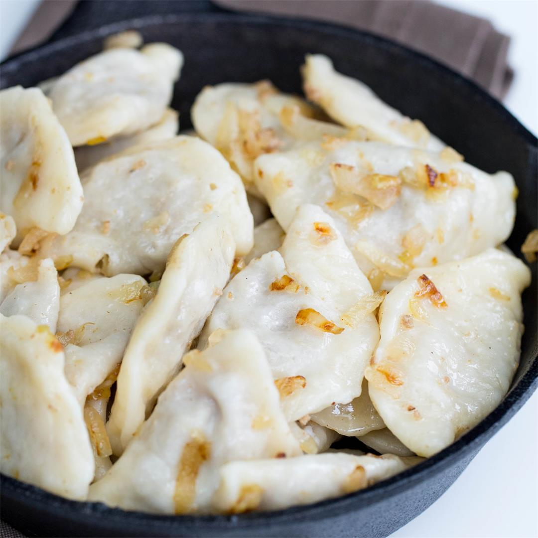 Meat Potato Pierogi