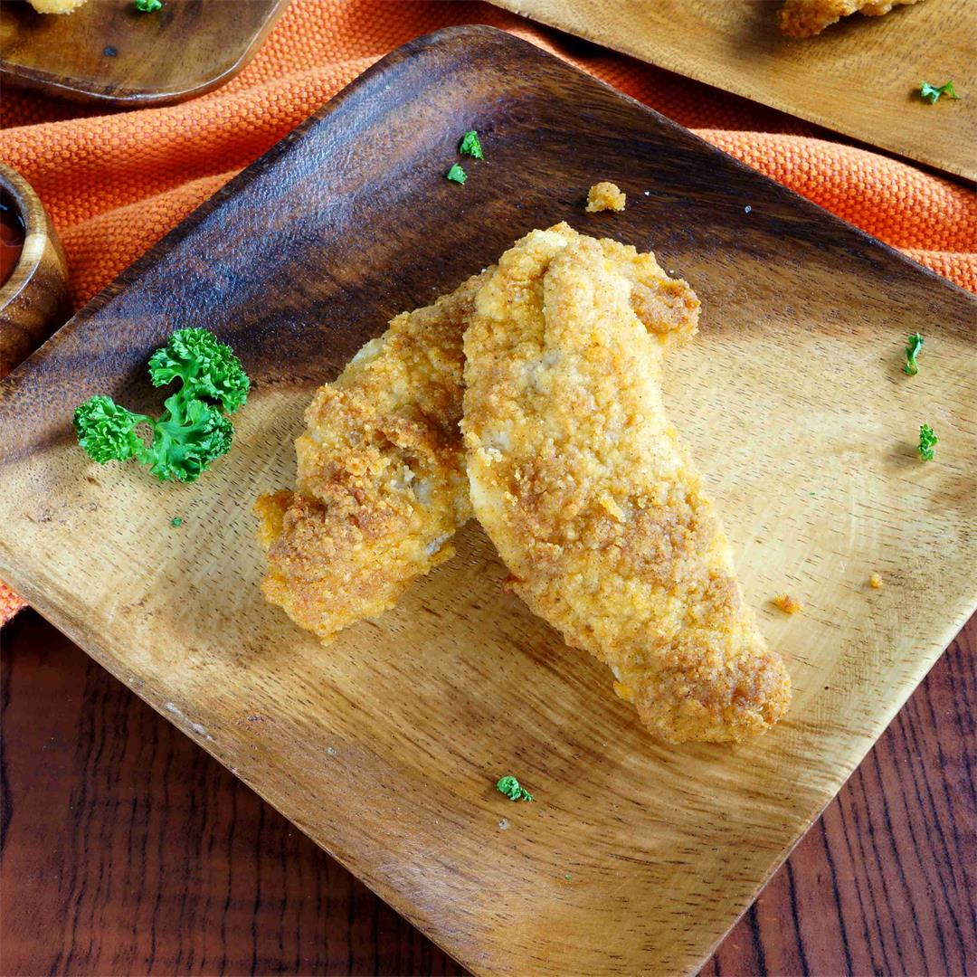 Paleo Coconut Flour Chicken Tenders