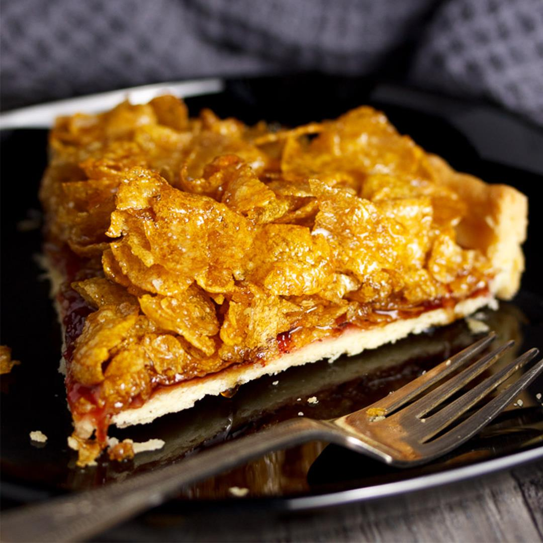 How To Make Cornflake Tart Easy Step By Step Picture