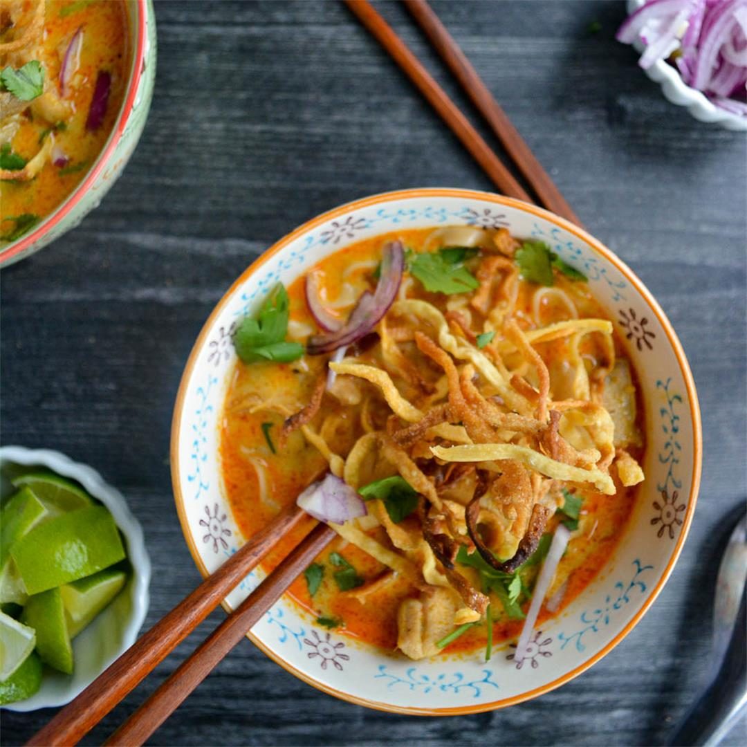 Khao Soi - Thai Coconut Curry Soup