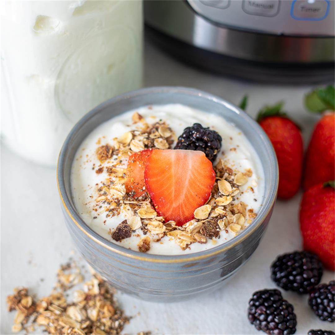 Instant Pot Cold Start Yogurt