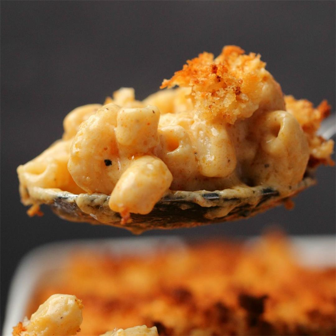 Baked Vegan Mac and Cheese