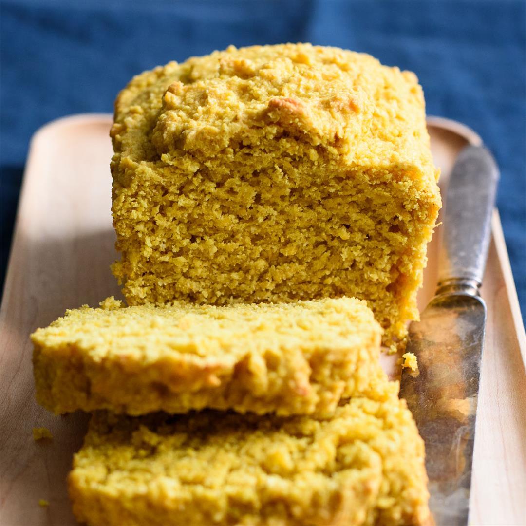 Vegan Turmeric Loaf Cake