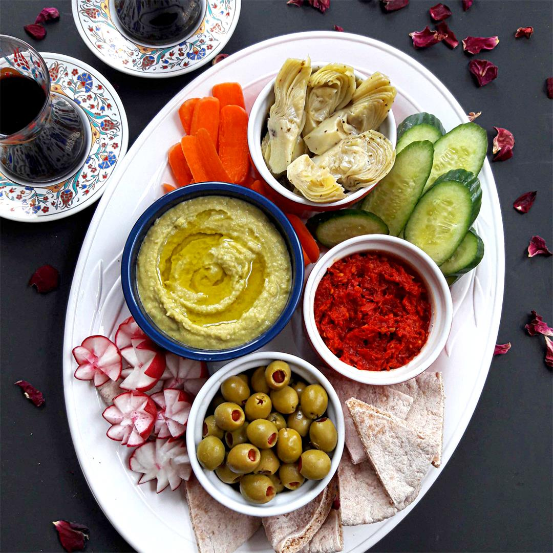 Mezze- Meditararian Appetizer Platter