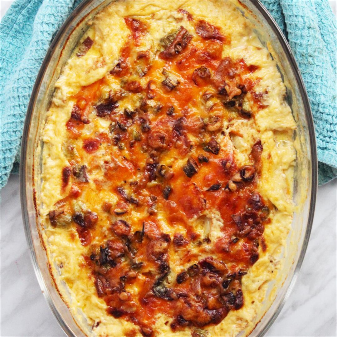 Loaded Sweet Potato Dauphinoise