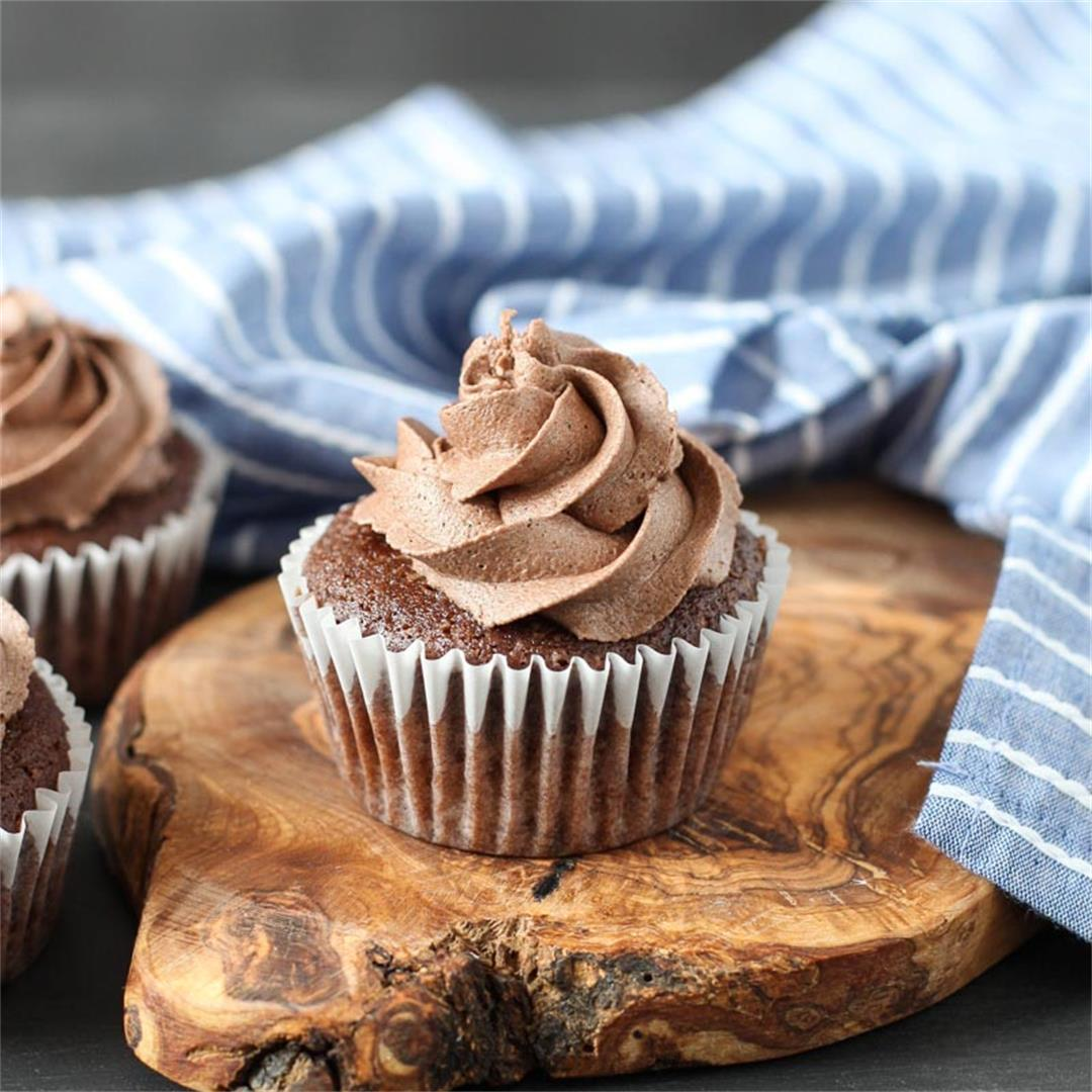 Gluten Free and Vegan Chocolate Cupcakes