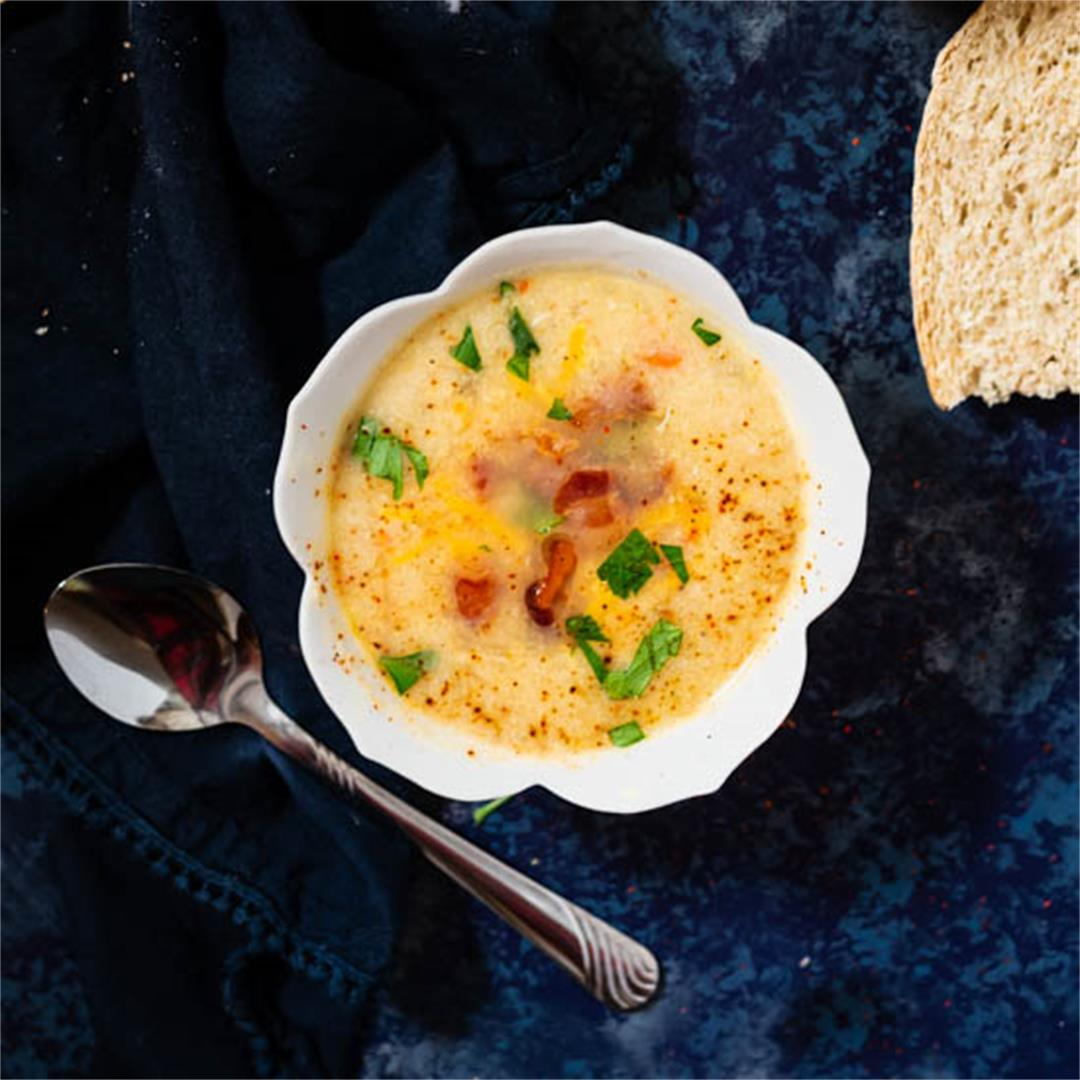 Instant Pot Bacon Corn Soup