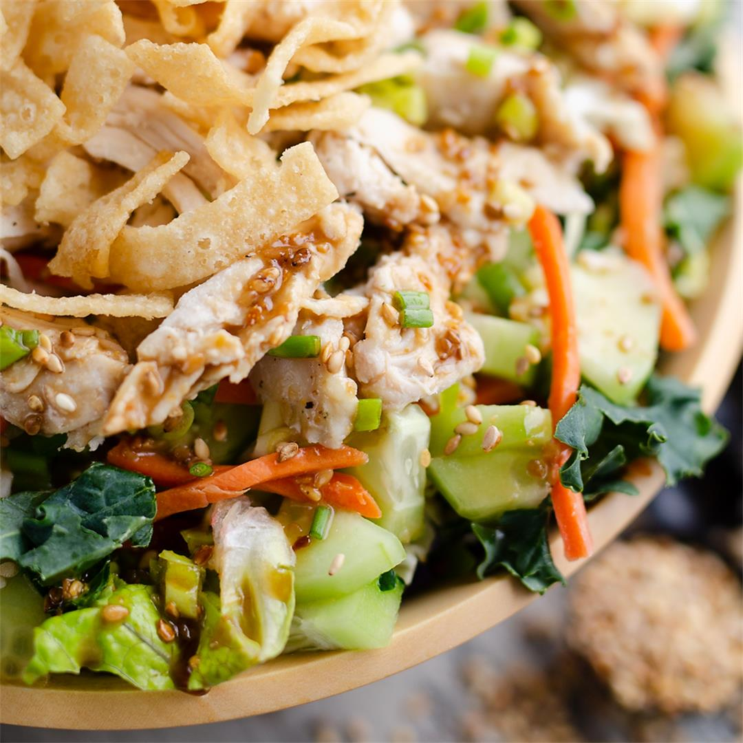 Toasted Sesame Asian Chicken Salad