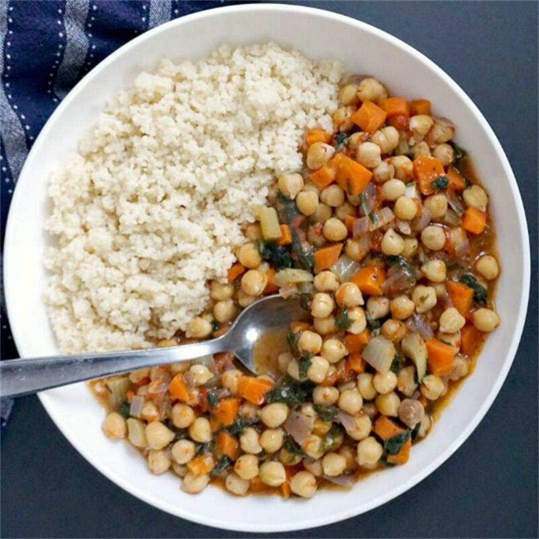 Vegan Chickpea Stew