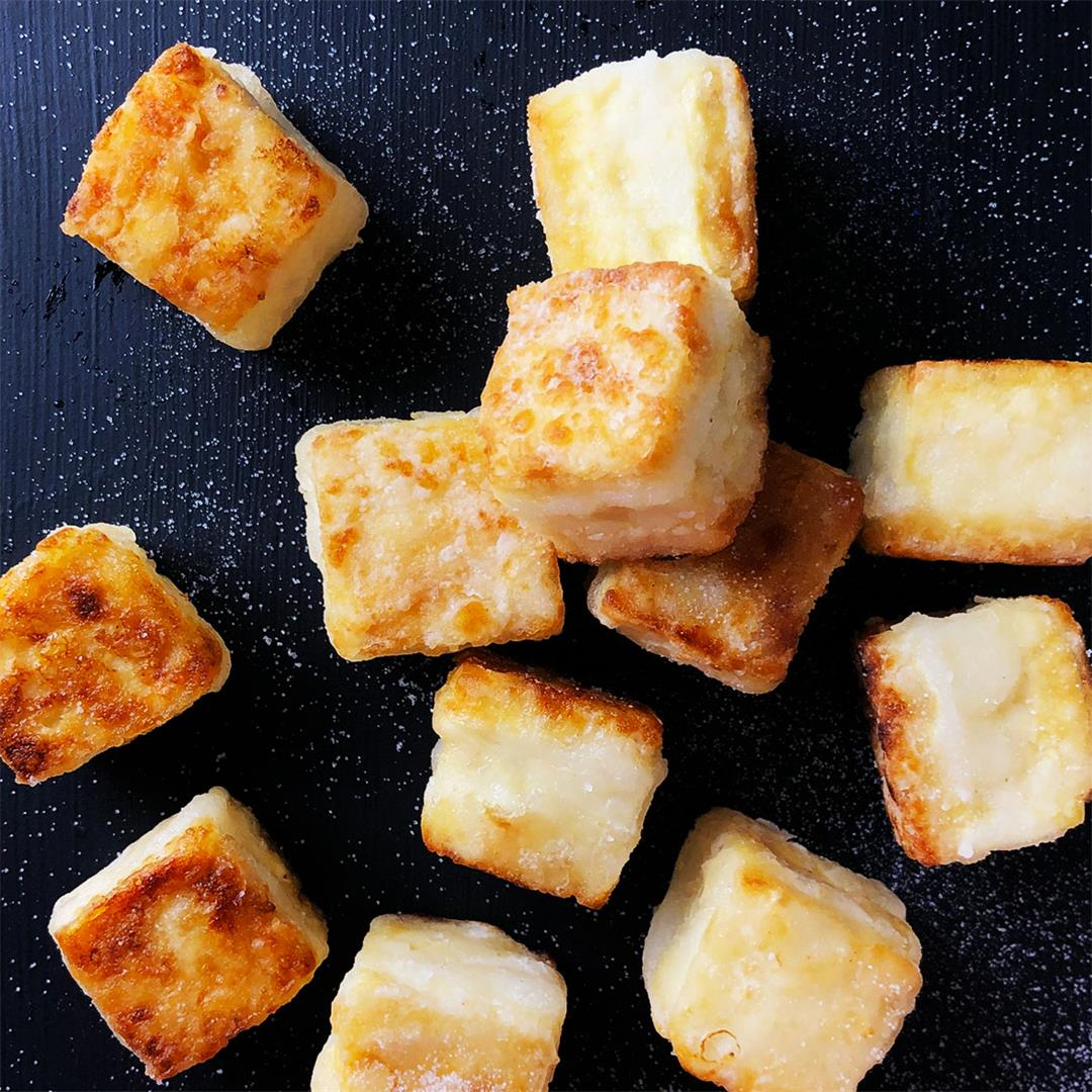 Salty Crispy Tofu (shallow-fried)