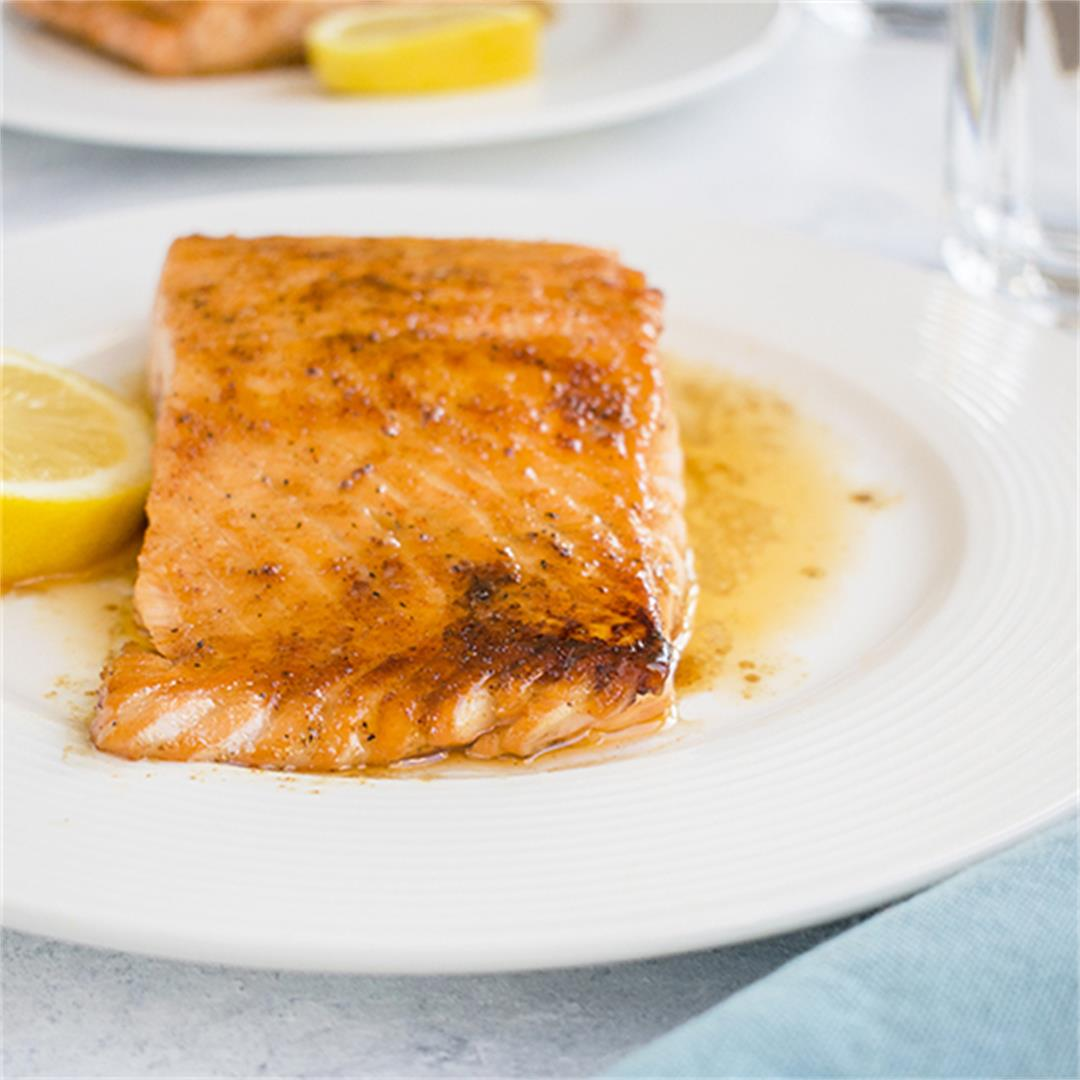 10-Minute Maple-Glazed Salmon