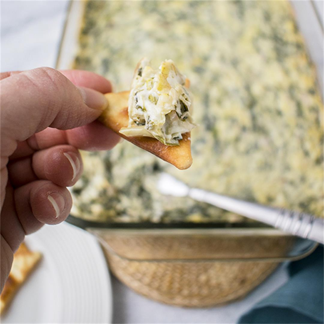 Asiago Spinach and Artichoke Dip