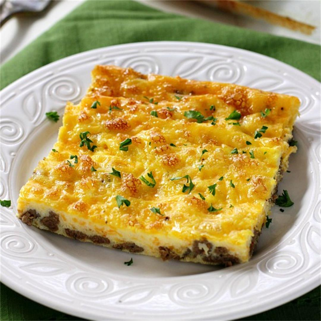 Low Carb Baked Omelet