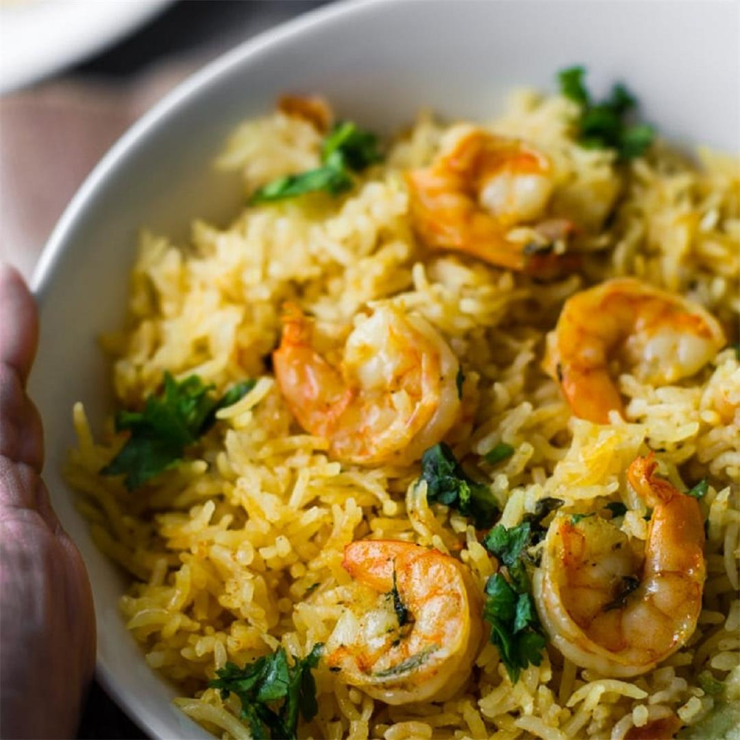 Shrimp / Prawn Biryani