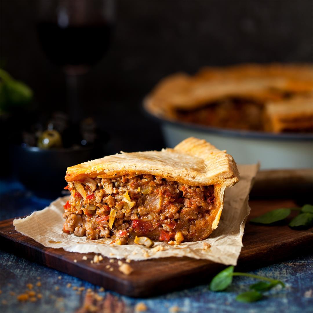 Mediterranean Lamb Pie