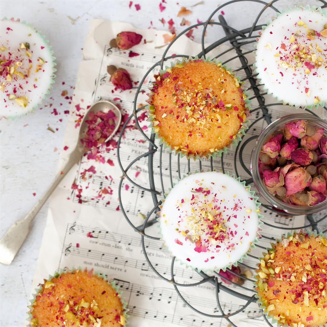 Persian Love Cupcakes