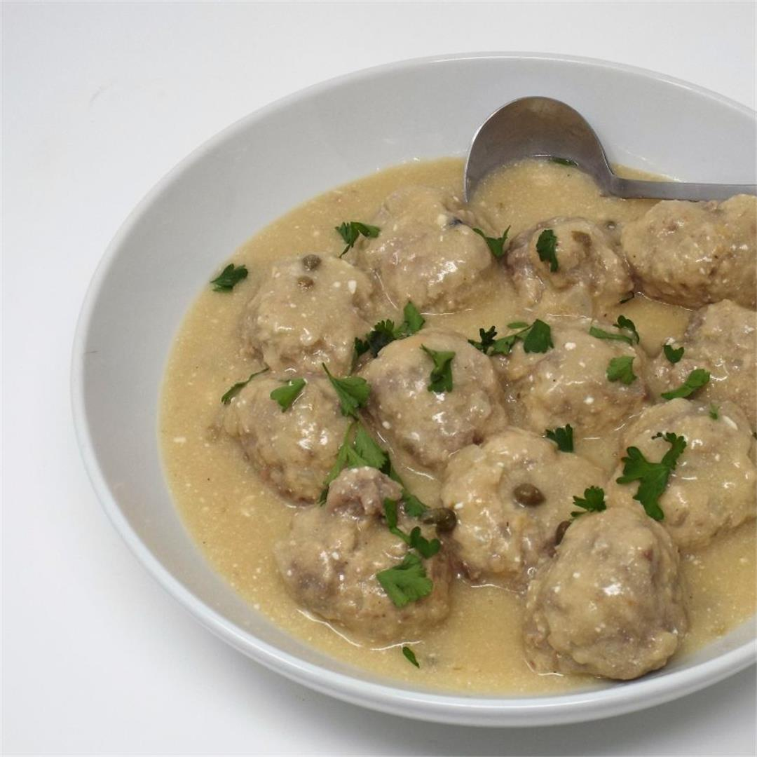 Konigsberger Klopse (German Meatballs)