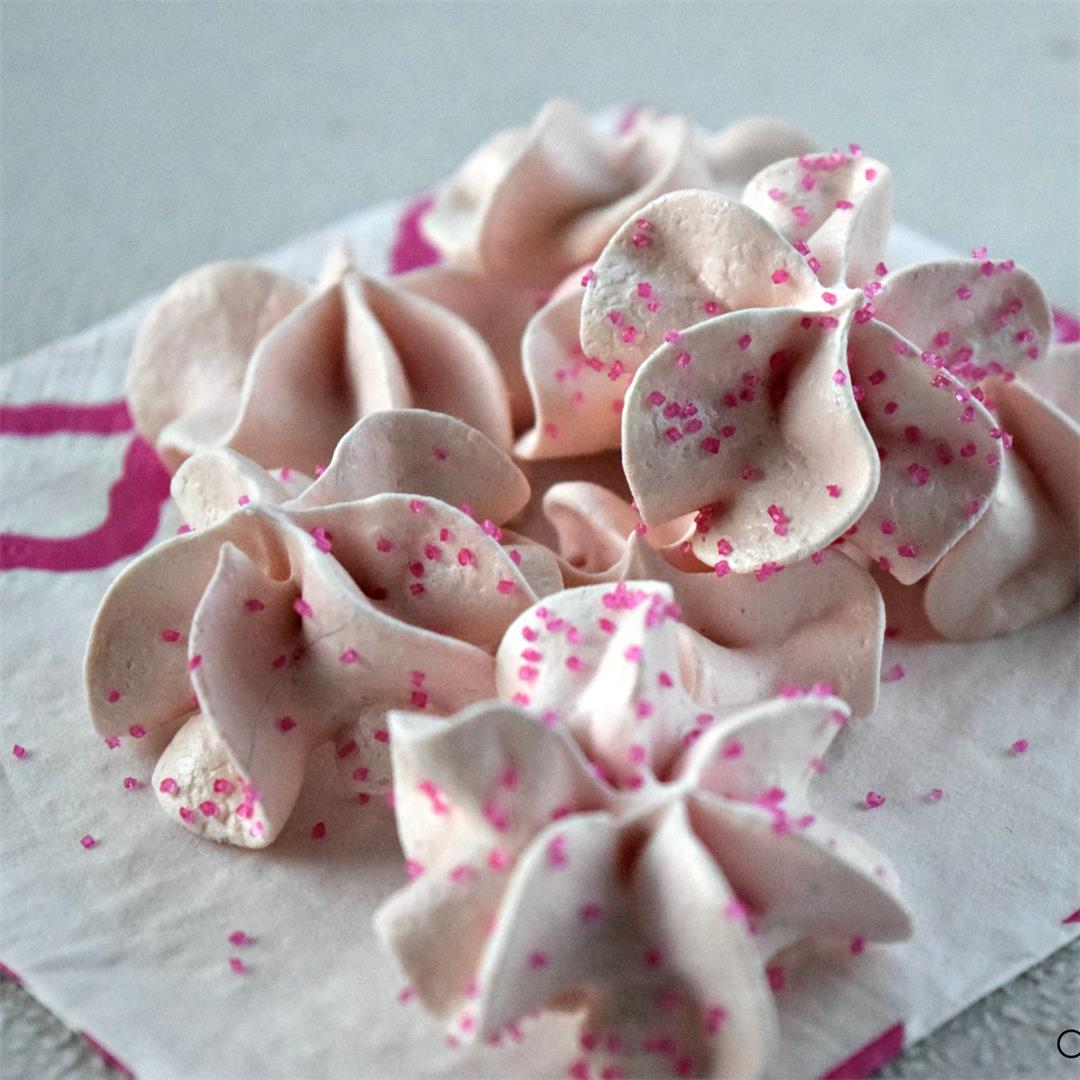 Homemade Meringue Cookies