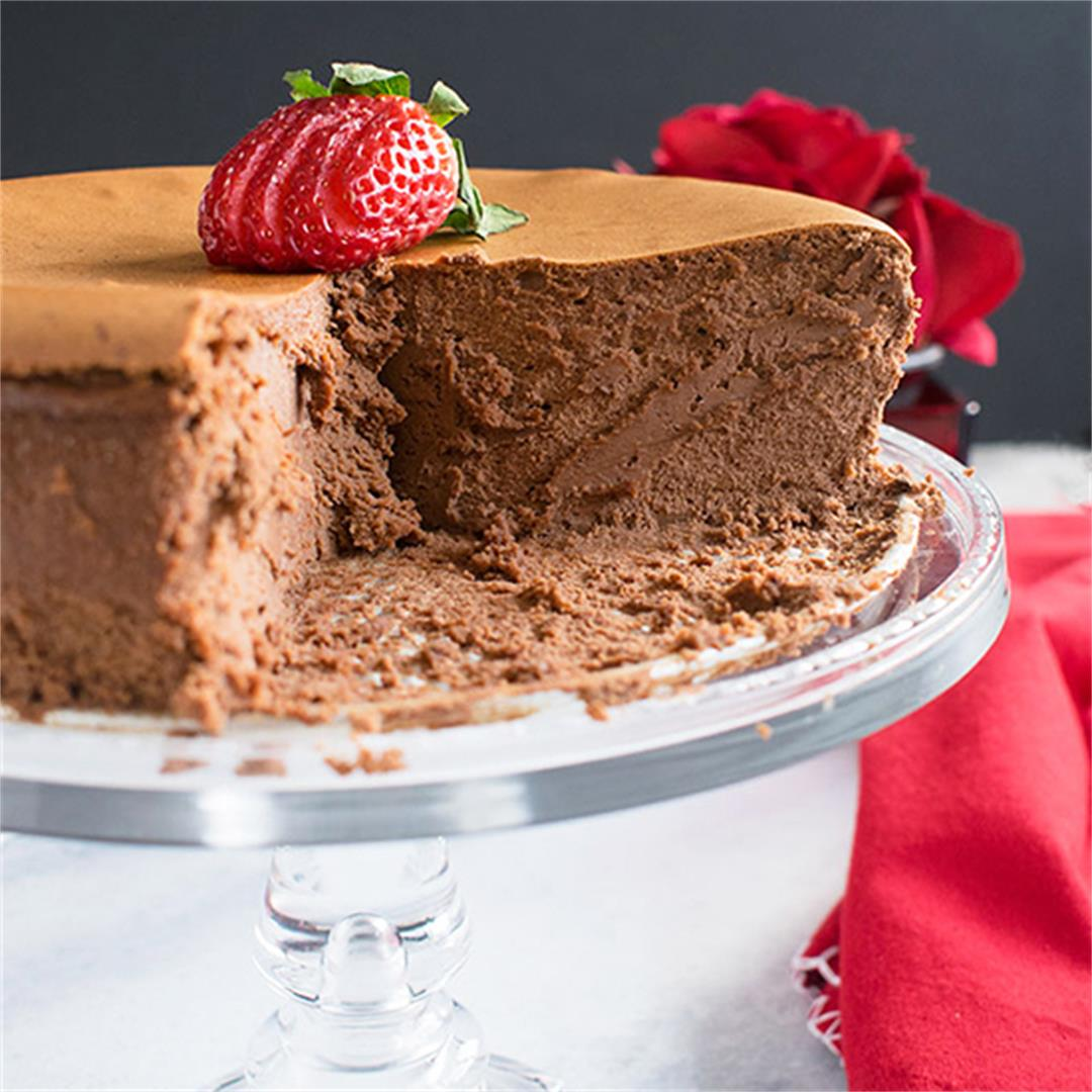 Chocolate Cheesecake (Gluten Free)