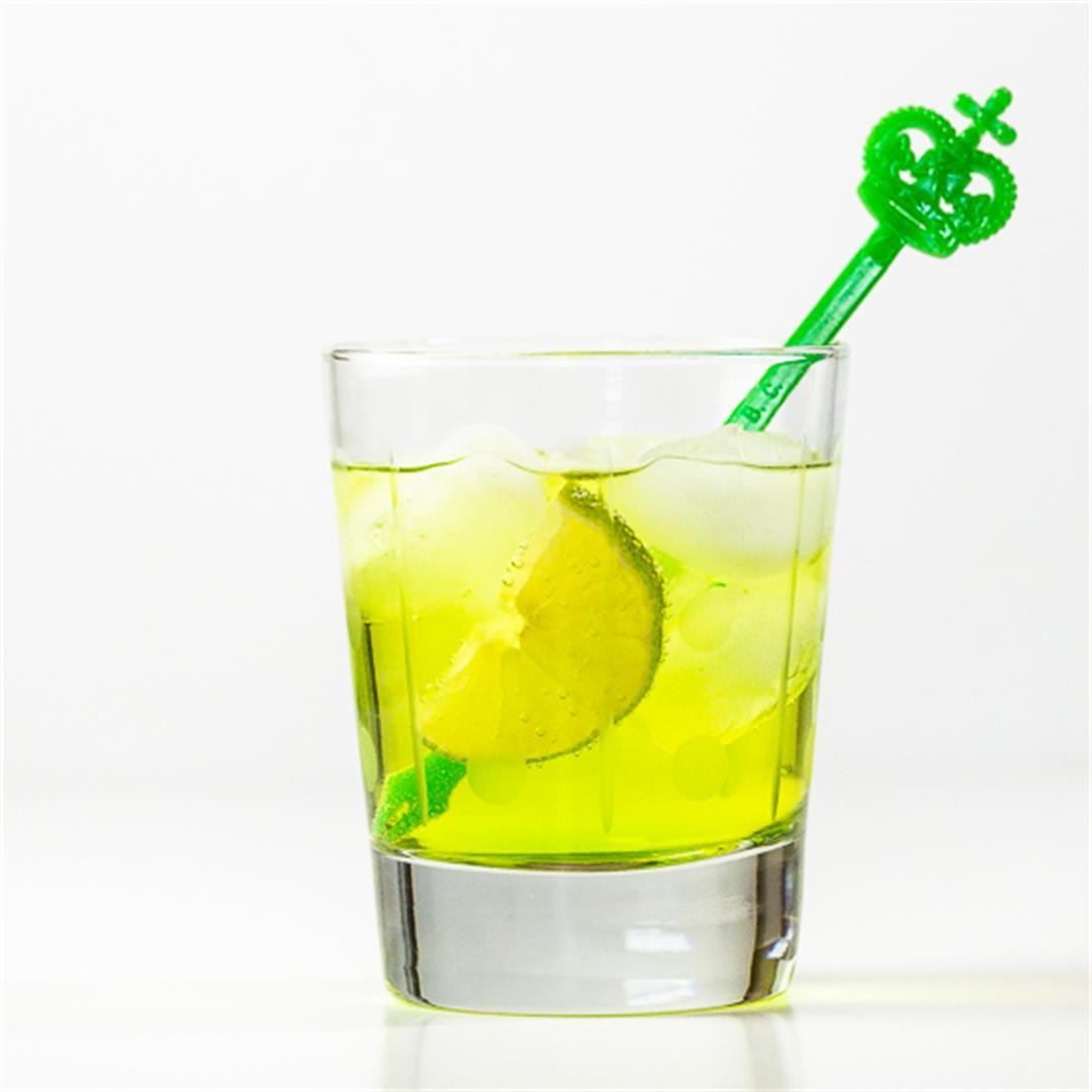 Midori Gin and Tonic