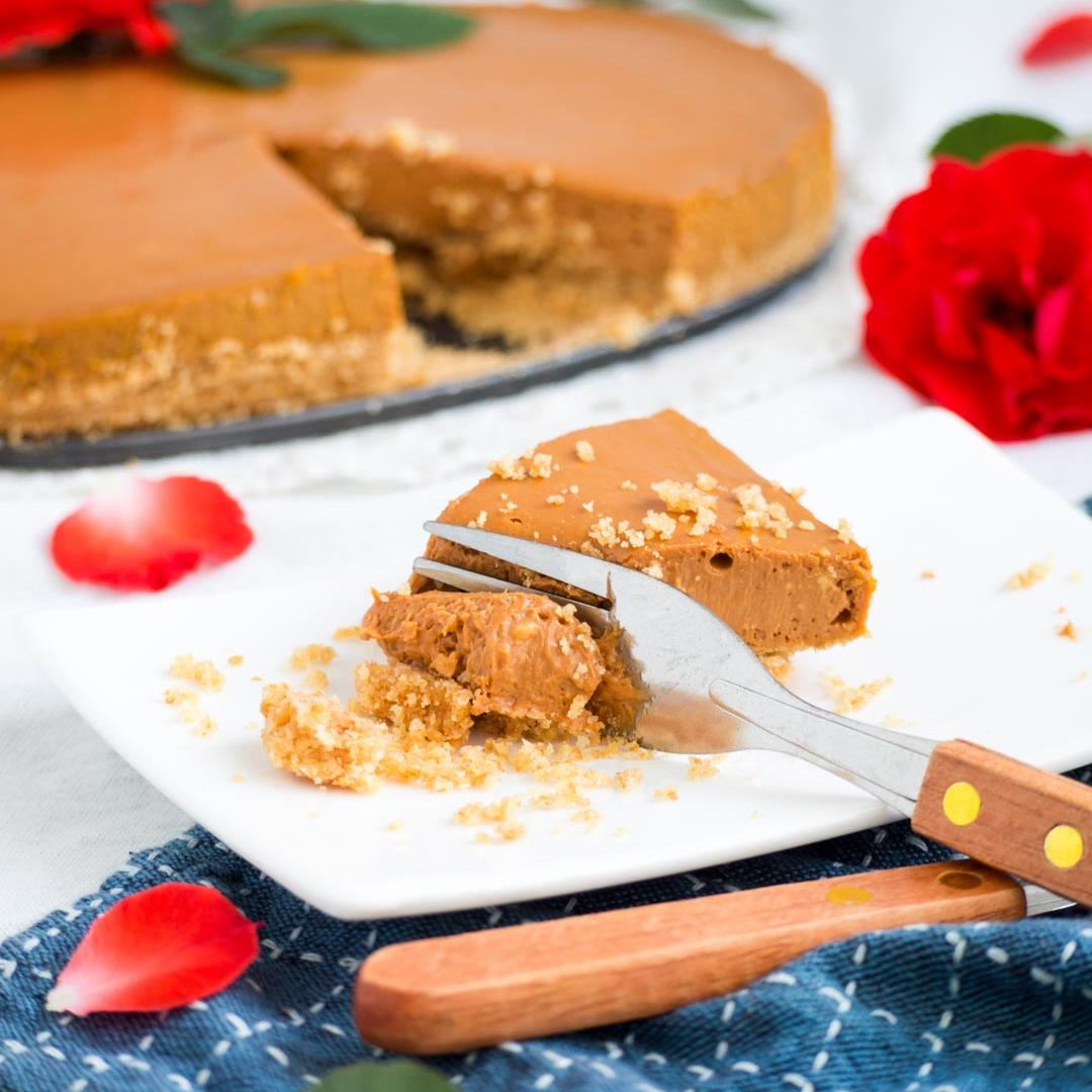 Easy Thai Tea Cheesecake