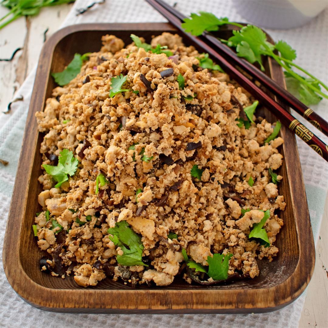 Tofu and Mushroom Mince (VG, GF, DF)