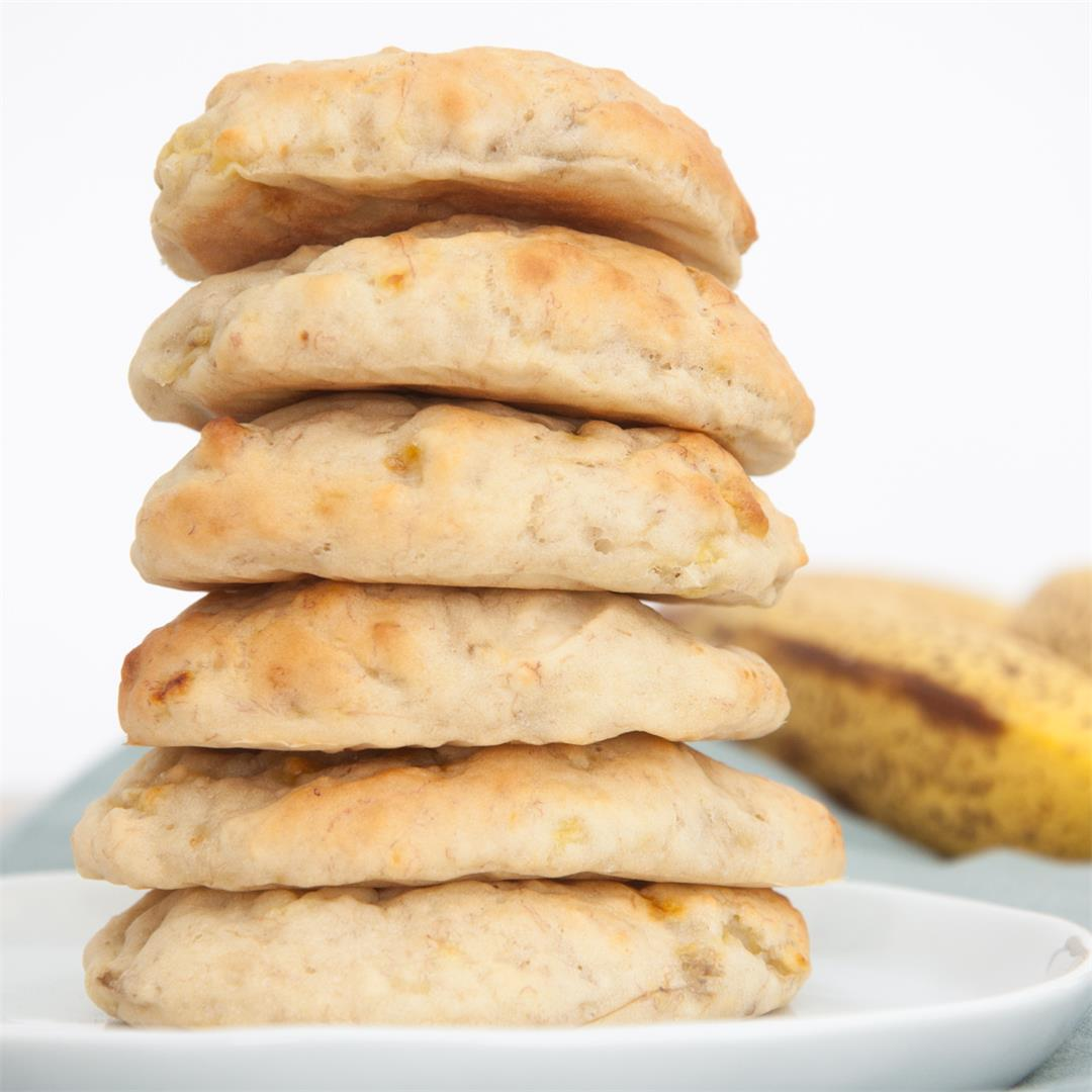 Sugar-Free Banana Cookies