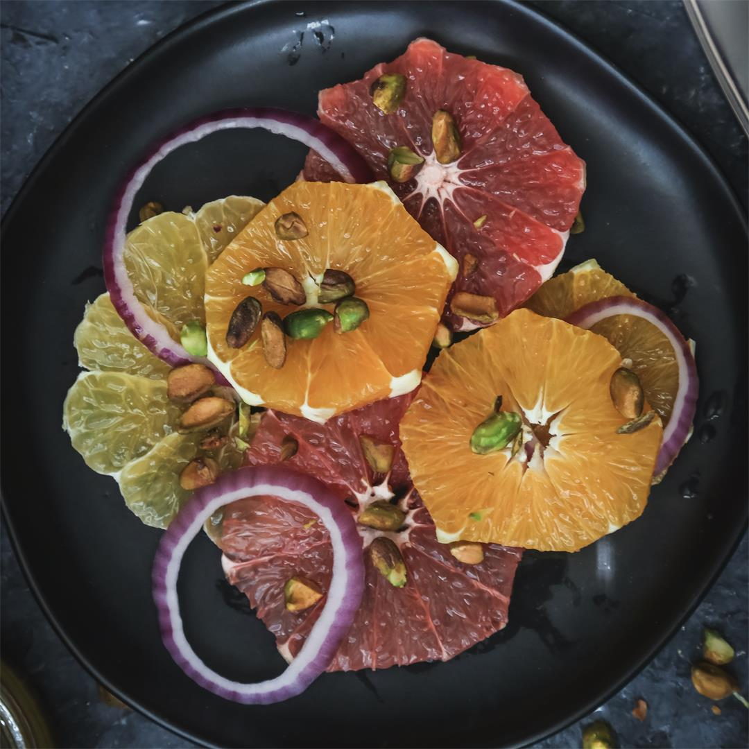 Seasonal Citrus Salad