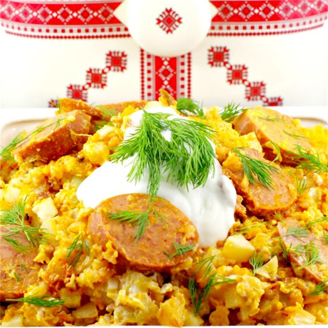 Ukrainian Slow Cooker Casserole