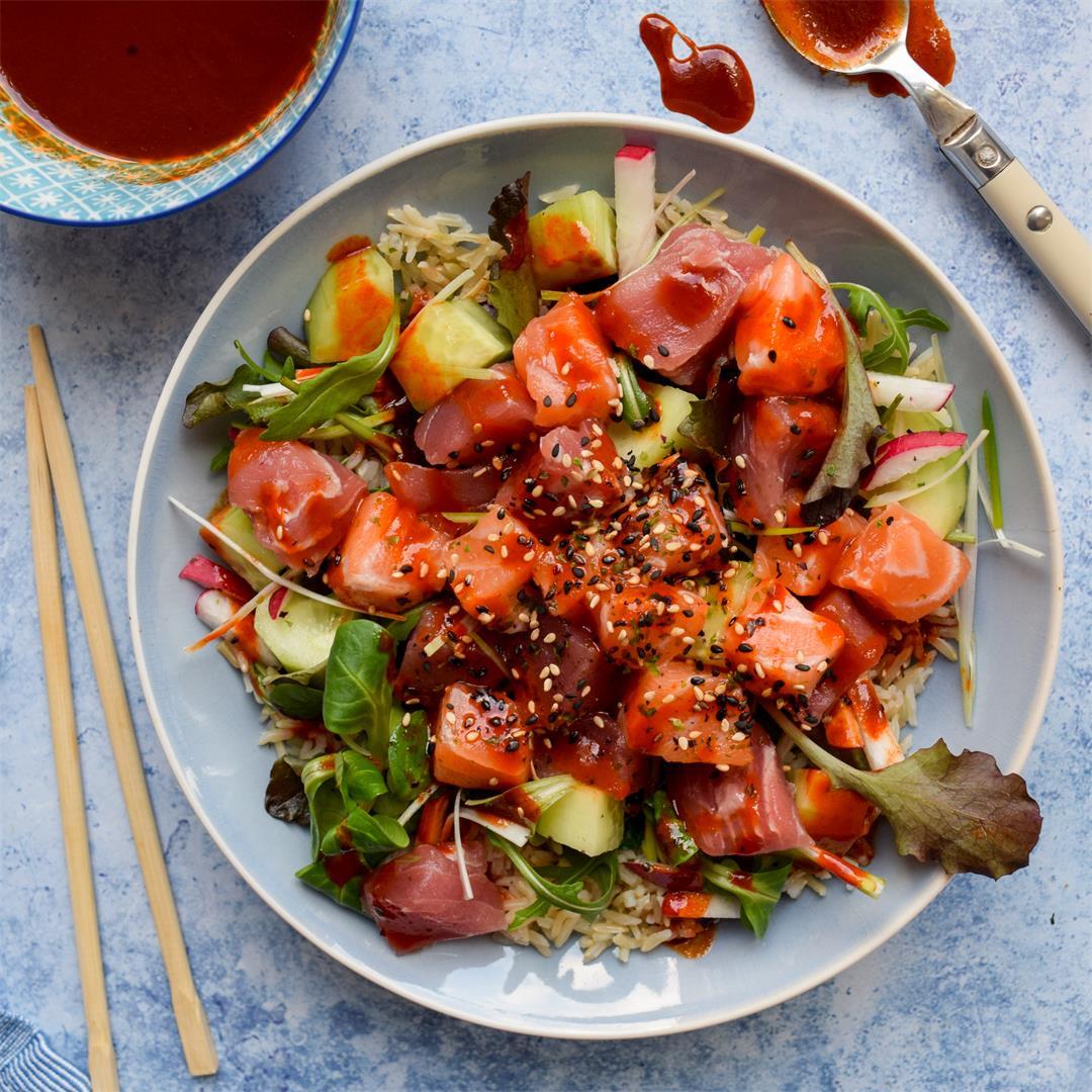 Korean Sashimi Salad (Hwe Dup Bap)