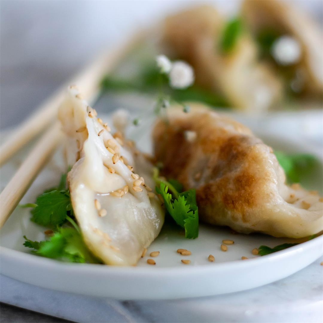 Easy Vegan Dumplings