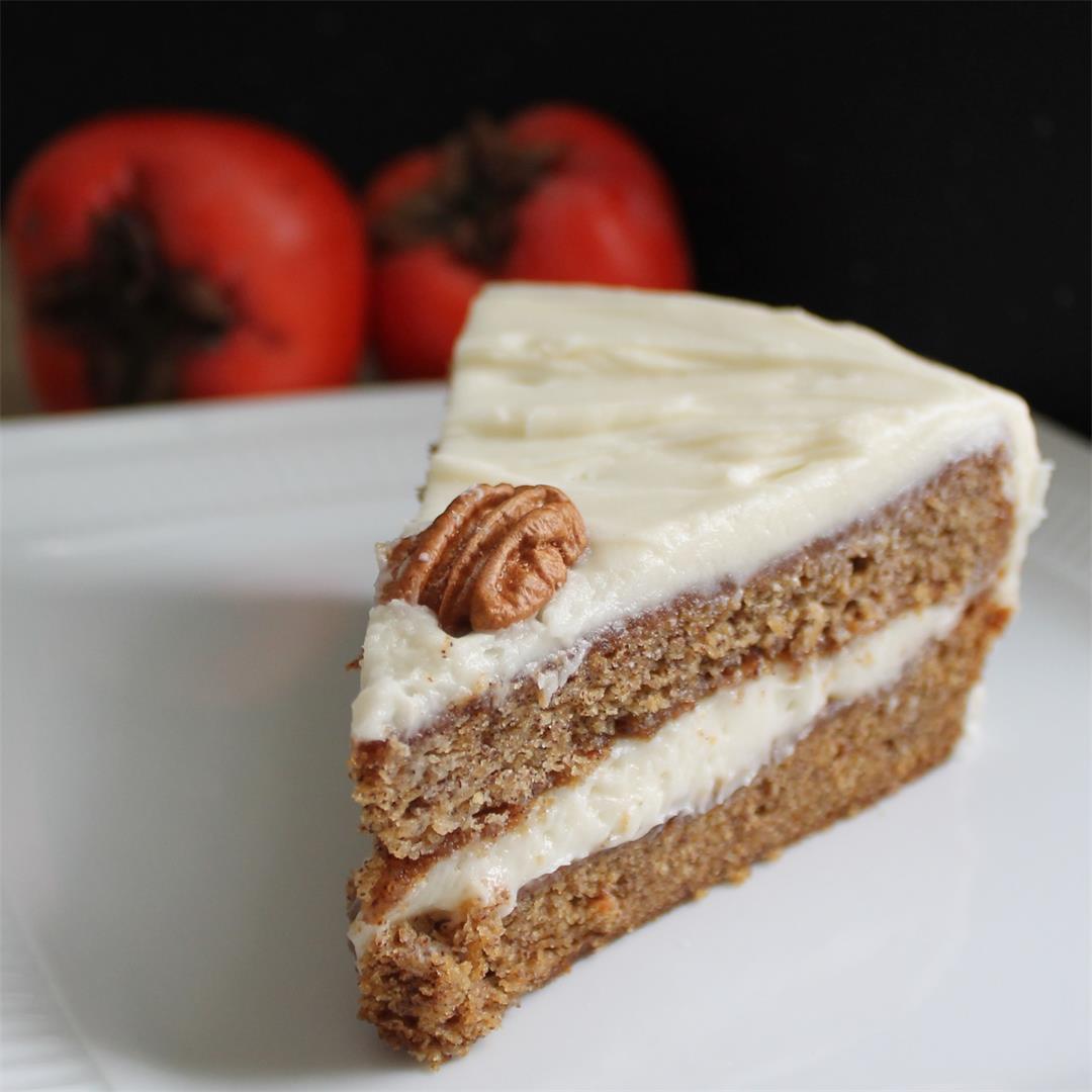 Persimmon Spice Cake