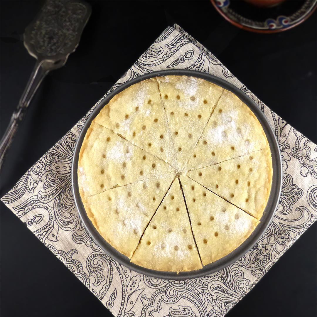 Traditional Spelt Shortbread