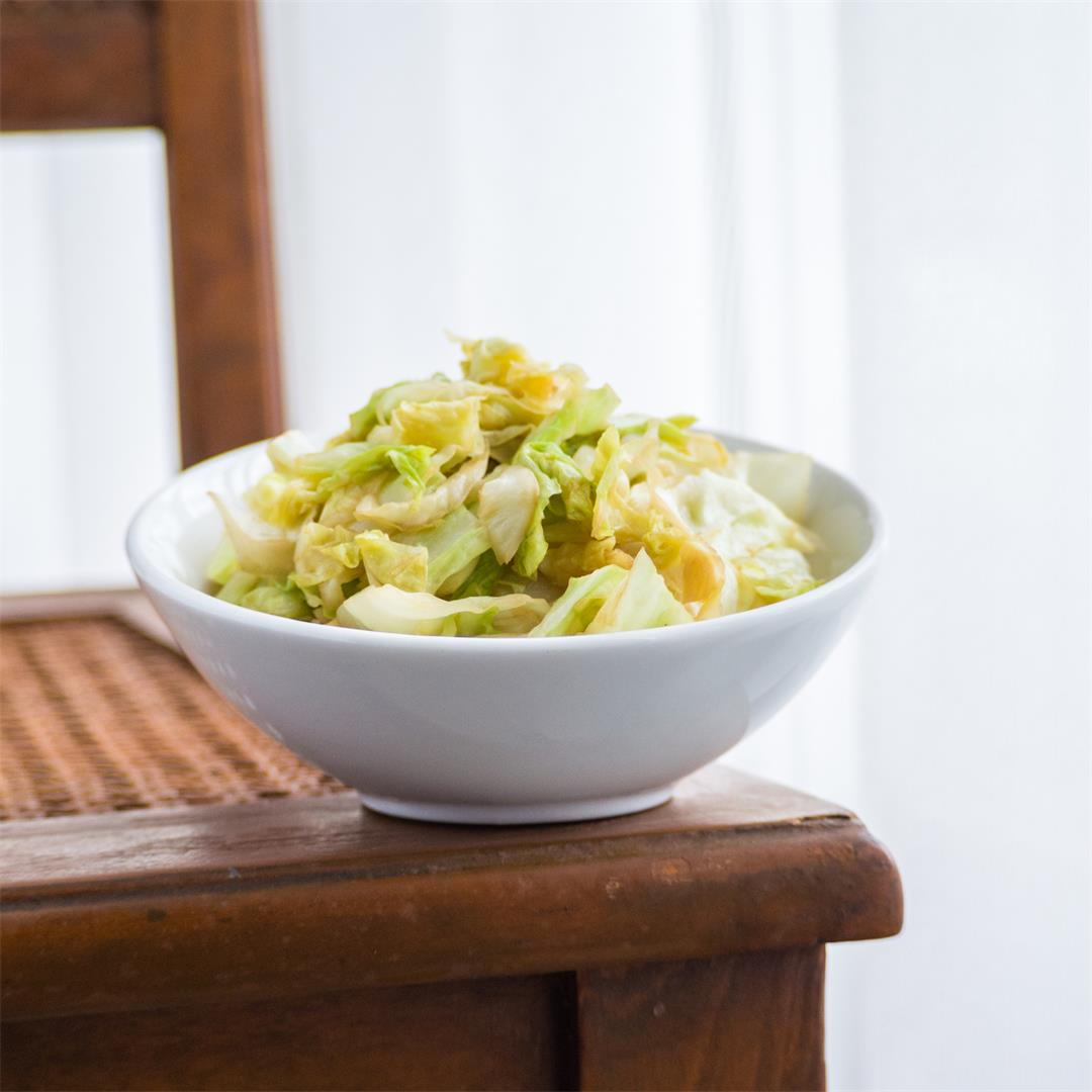 4-Ingredient Thai Stir-Fried Cabbage