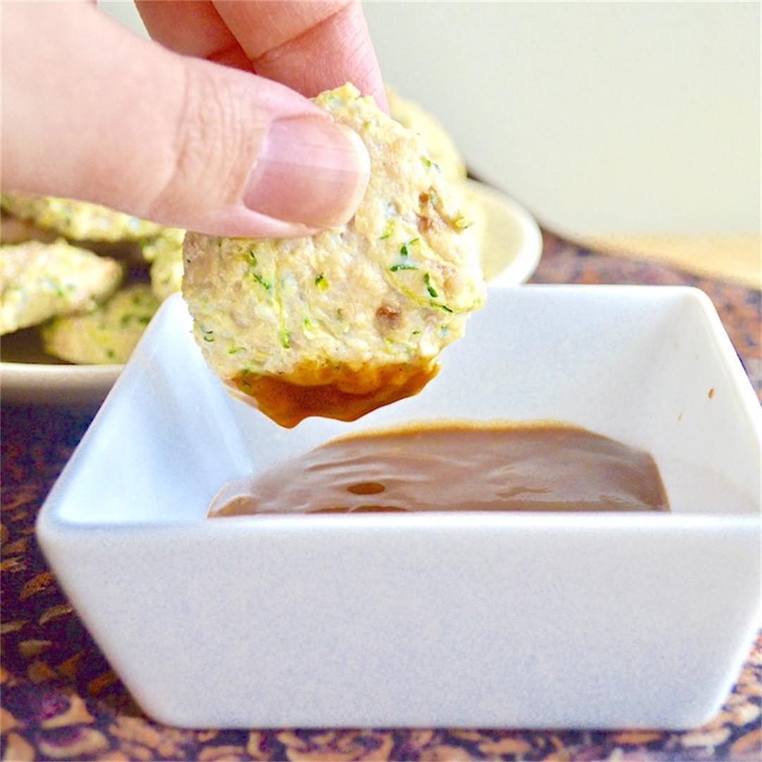 Baked Chicken Zucchini Muffins