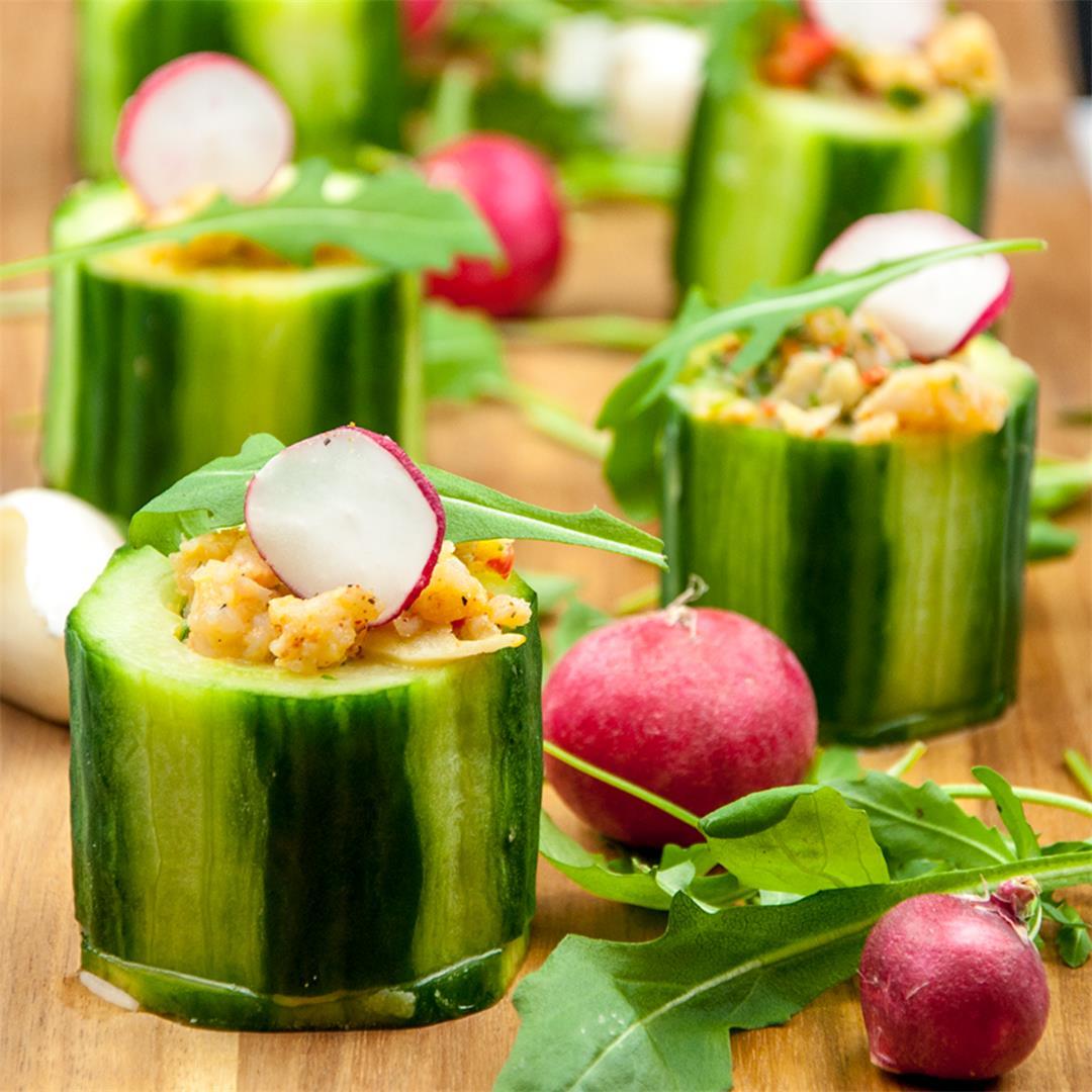 Cucumber Potted Shrimp