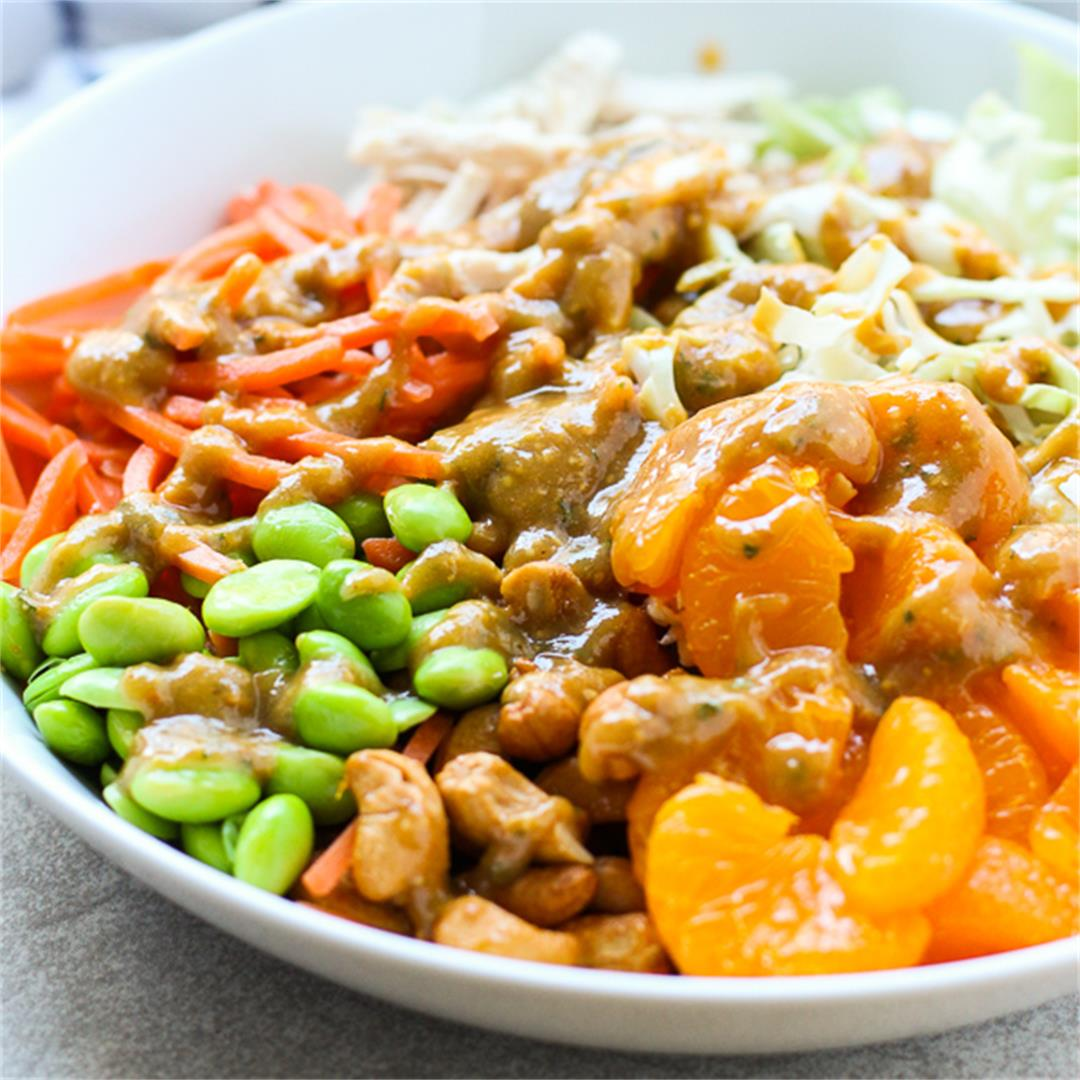 Asian Peanut Chicken Salad