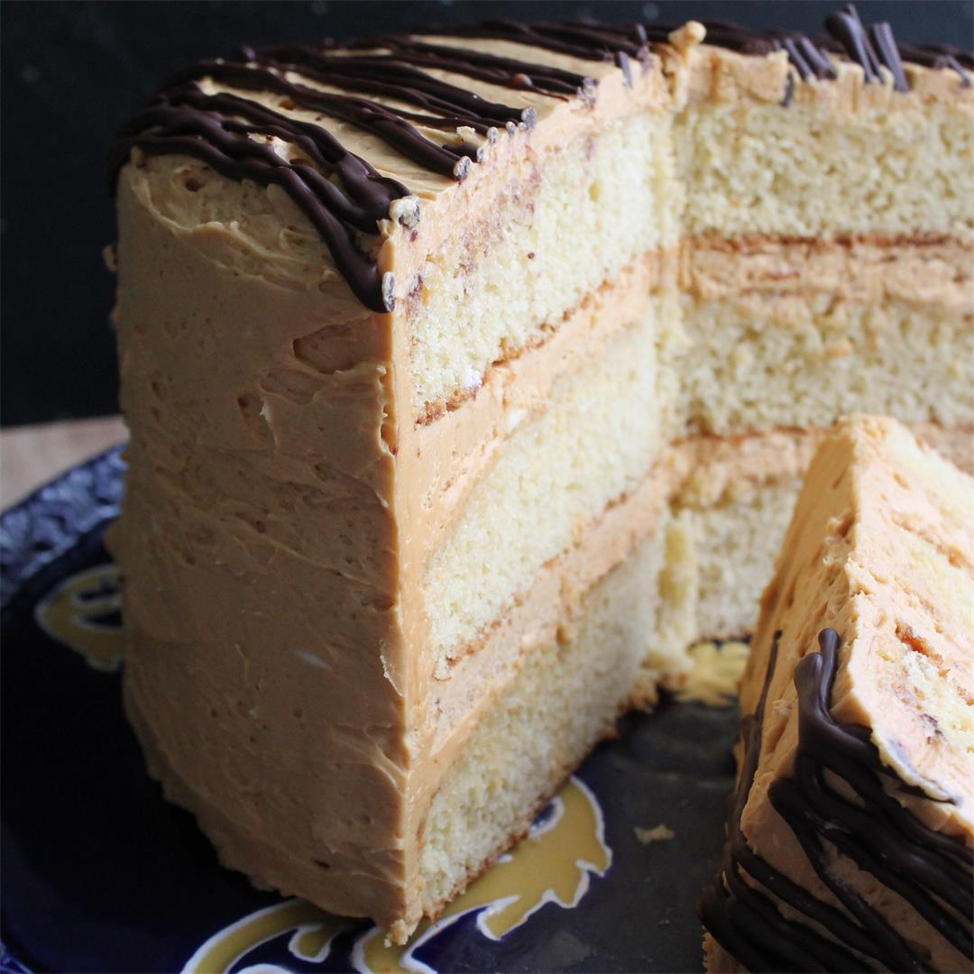 Caramel Honey Cake from The European Cake Cookbook