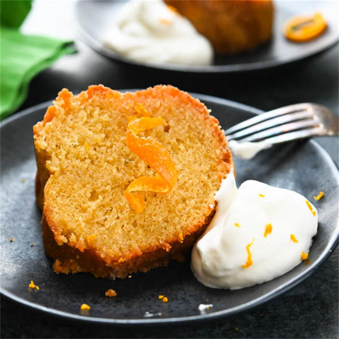 Irish Whiskey Orange Bundt Cake